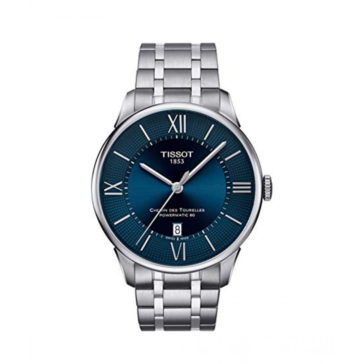 Tissot Chemin des Tourelles Men's Watch Blue (T0994071104800)