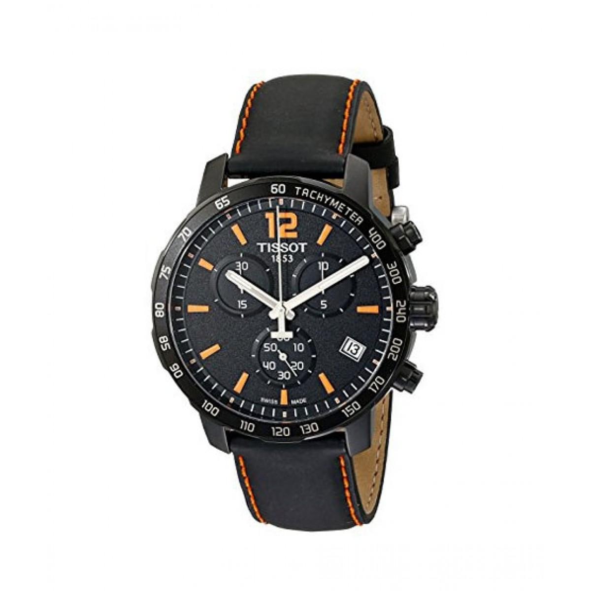 4a84d9cbdde Tissot Quickster Chronograph Men's Watch Price in Pakistan | Buy Tissot  Quickster Chronograph Men's Watch Black (T0954173605700) | iShopping.pk