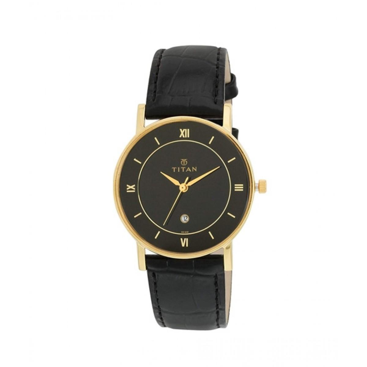 Titan Analog Men's Watch Black (9162YL02)