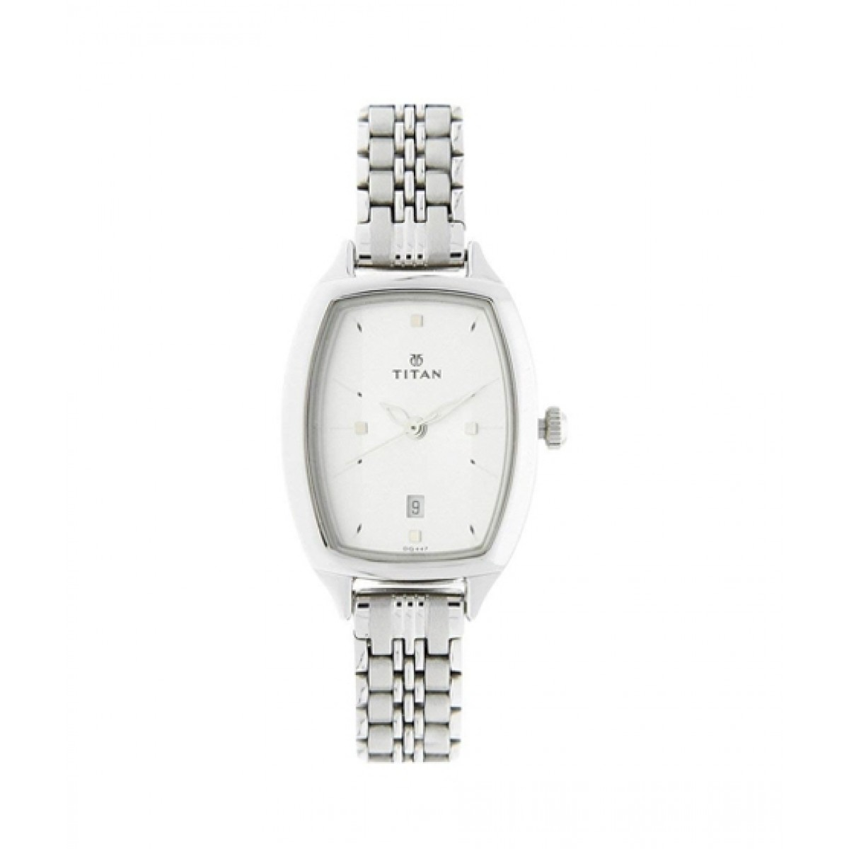 Titan Analog Women's Watch Silver (2571SM01)