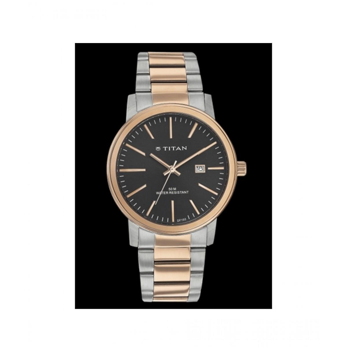 Titan Classic Men's Watch Rose Gold (9440KM01)