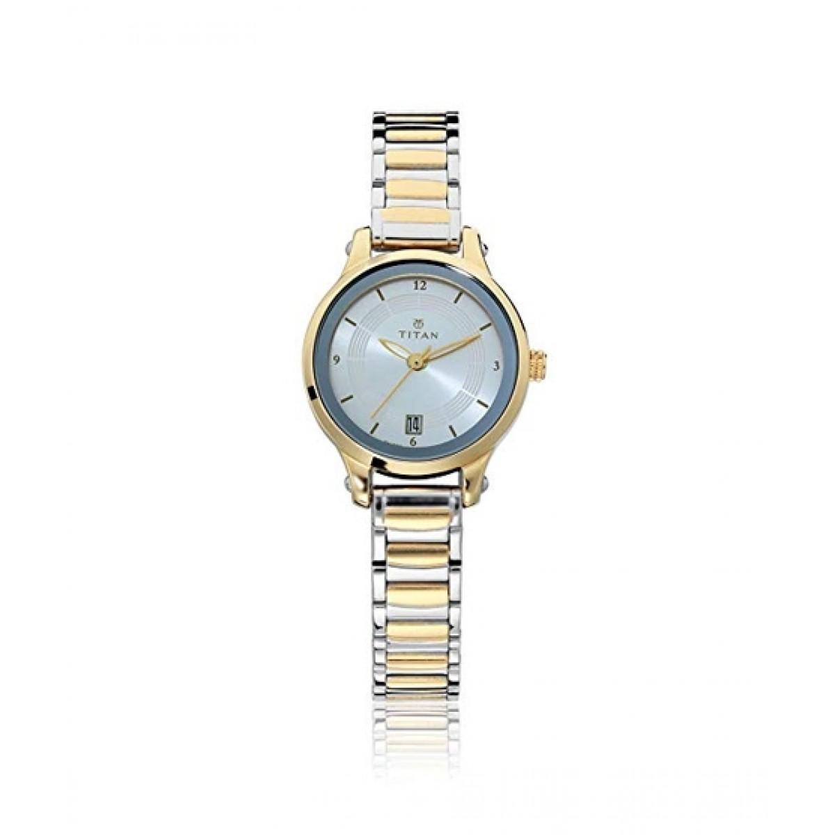 Titan Karishma Women's Watch Two-Toner (2602BM02)