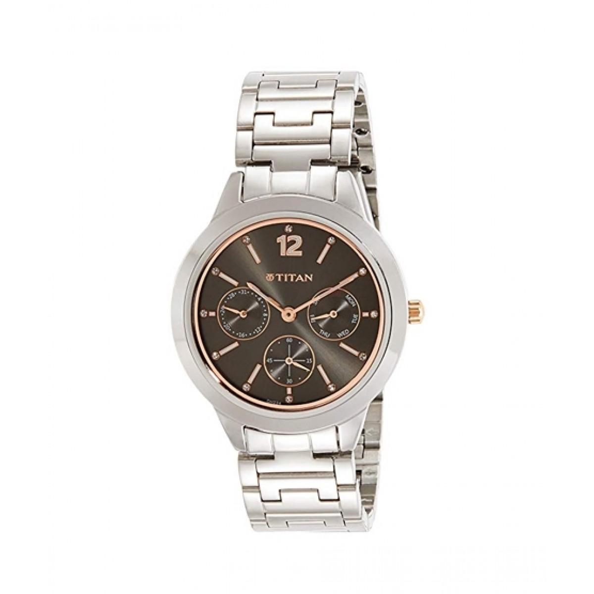 Titan Neo Women's Watch Silver (2588KM02)