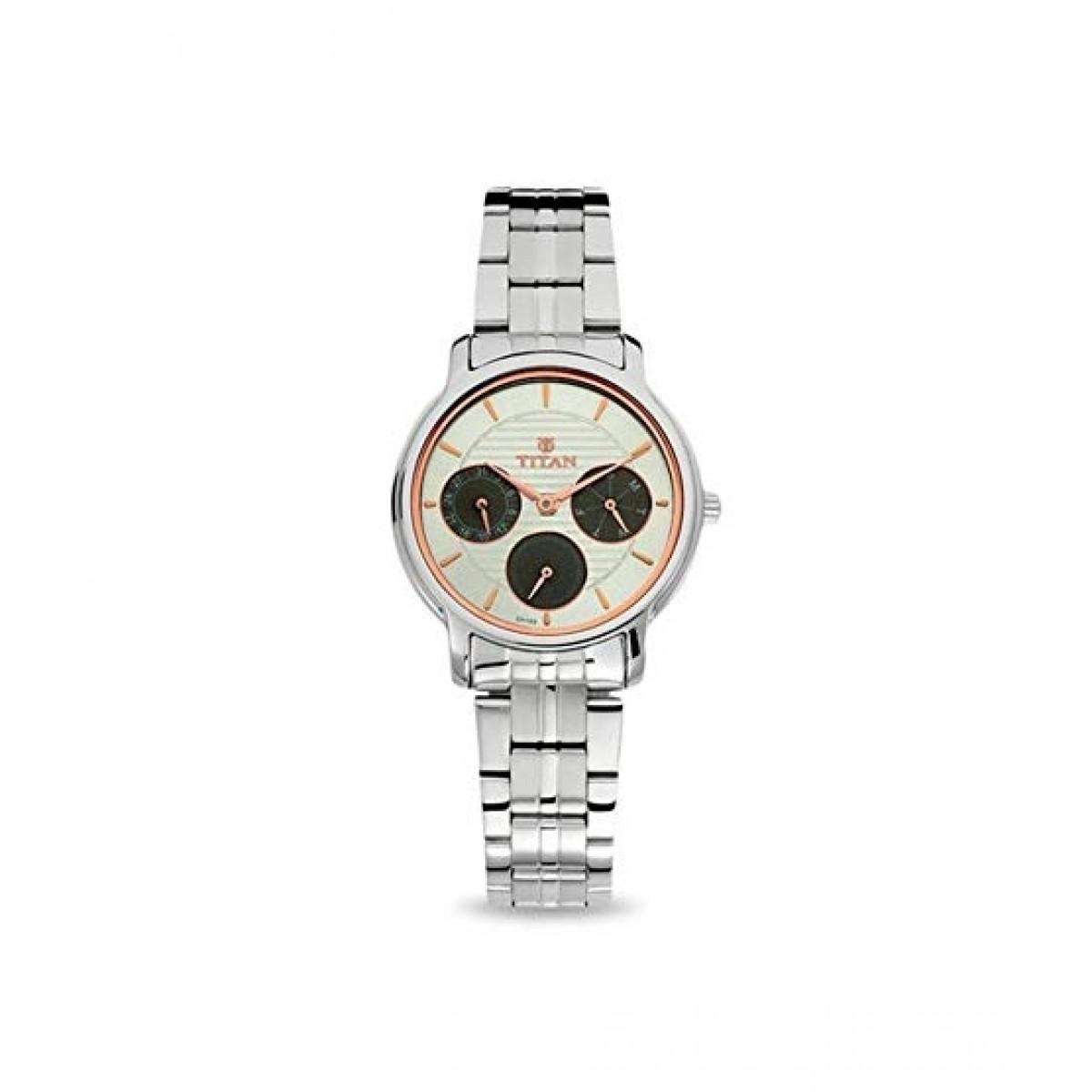 Titan Neo Women's Watch Silver (2589SM01)
