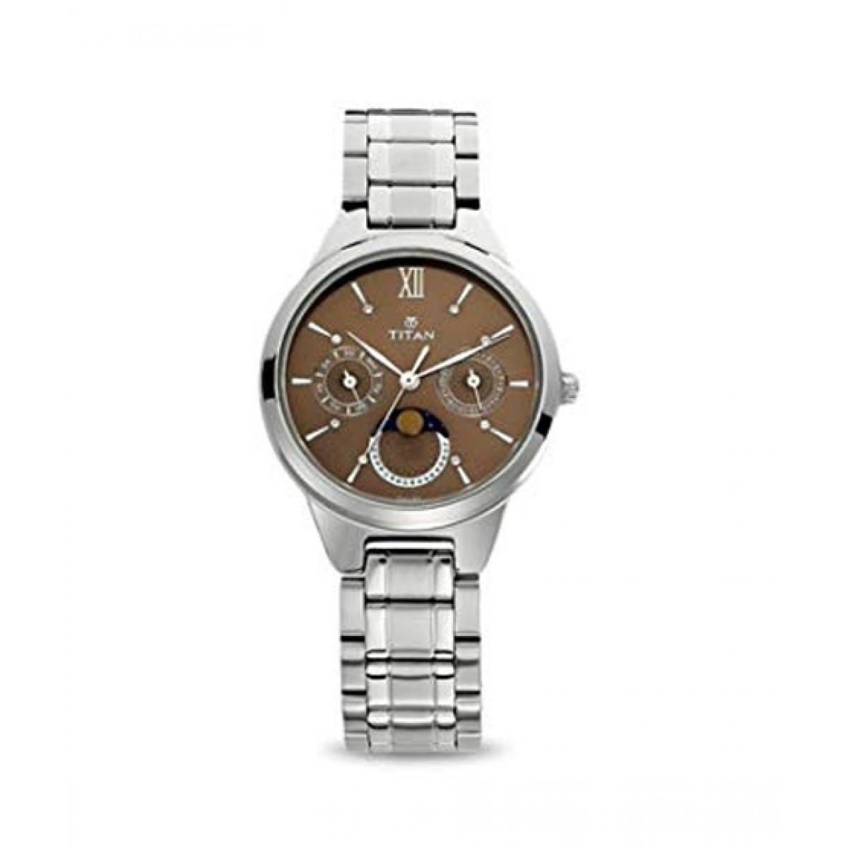 Titan Neo Women's Watch Silver (2590SM01)