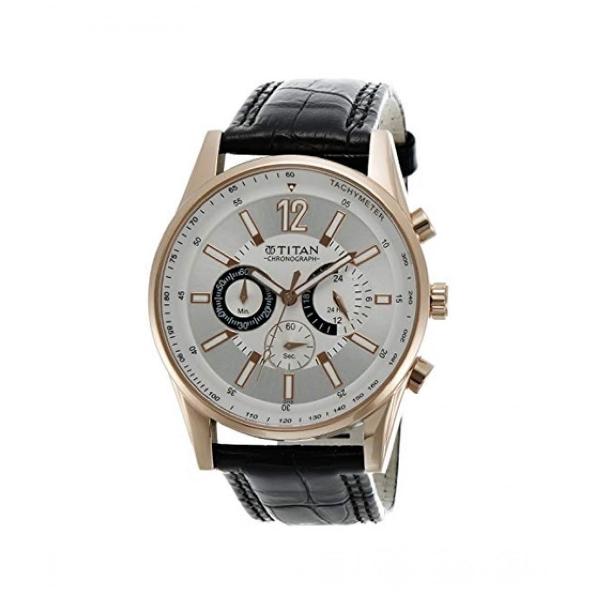 Titan Octane Men's Watch Brown (9322WL01)