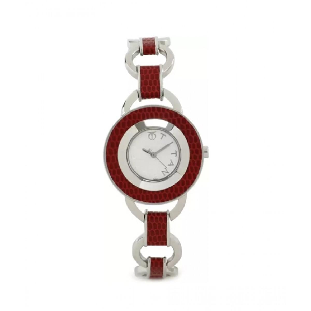 Titan Purple Women's Watch Two-Tone (9875SH01)