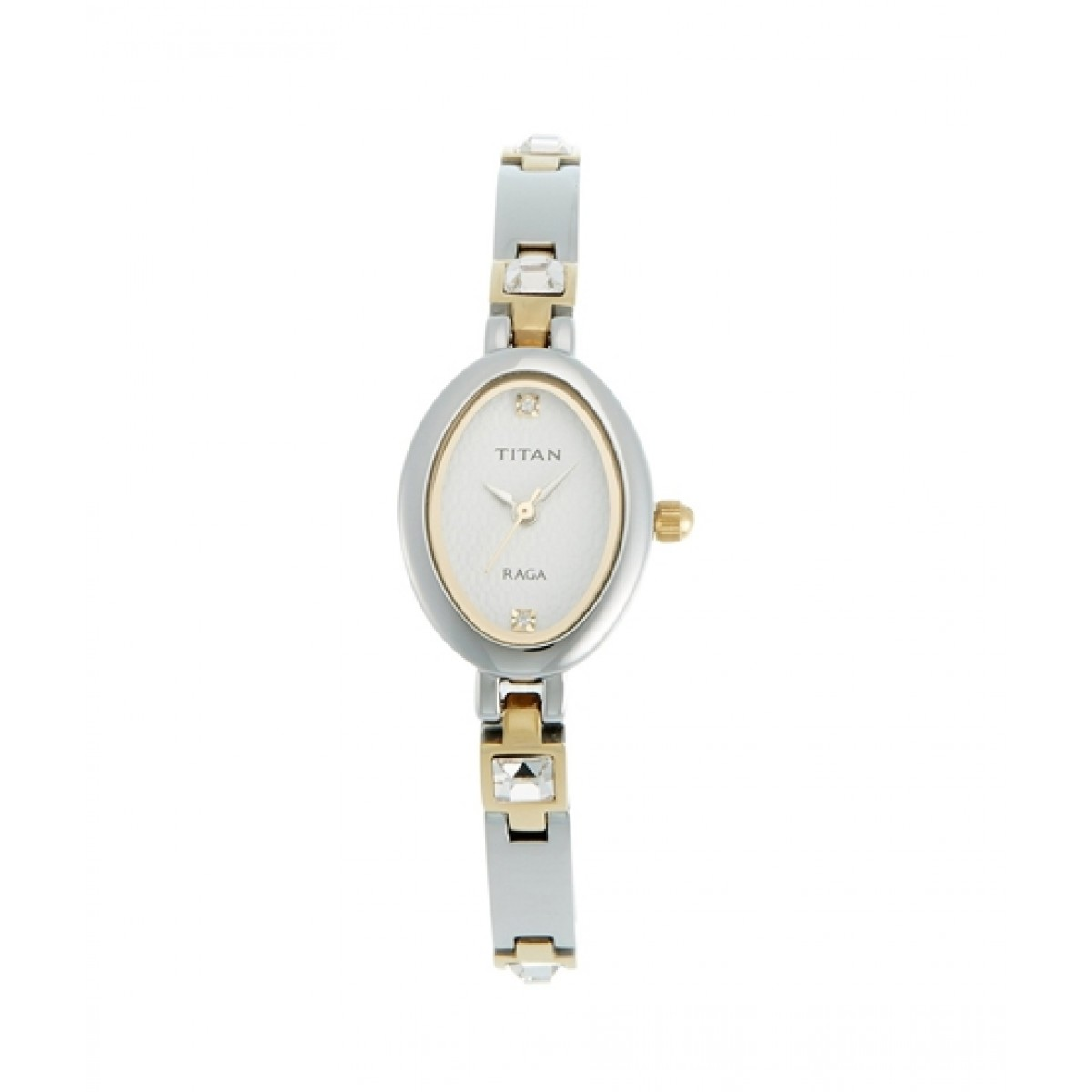 Titan Raga Analog Women's Watch Silver (9717BM01)