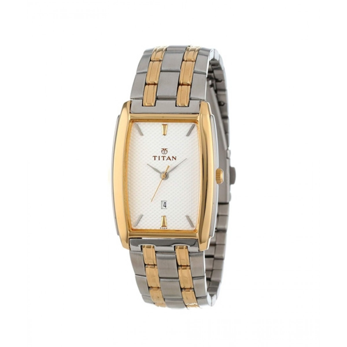 Titan Regalia Men's Watch Two Tone (1163BM01)