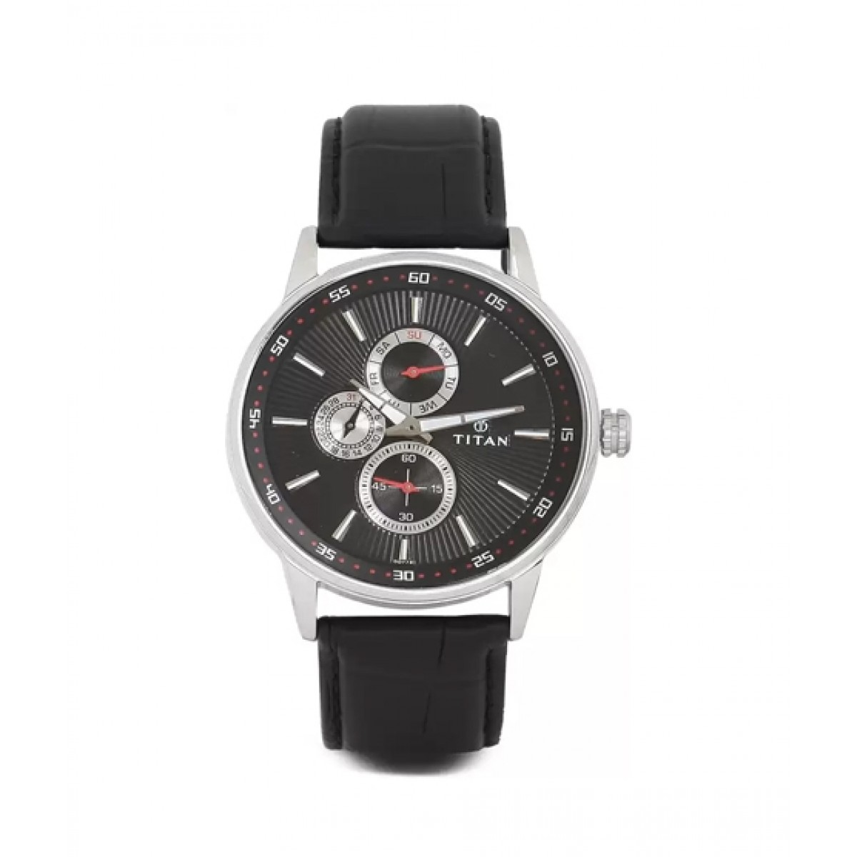 Titan Smart Steel Men's Watch Black (9441SL02)