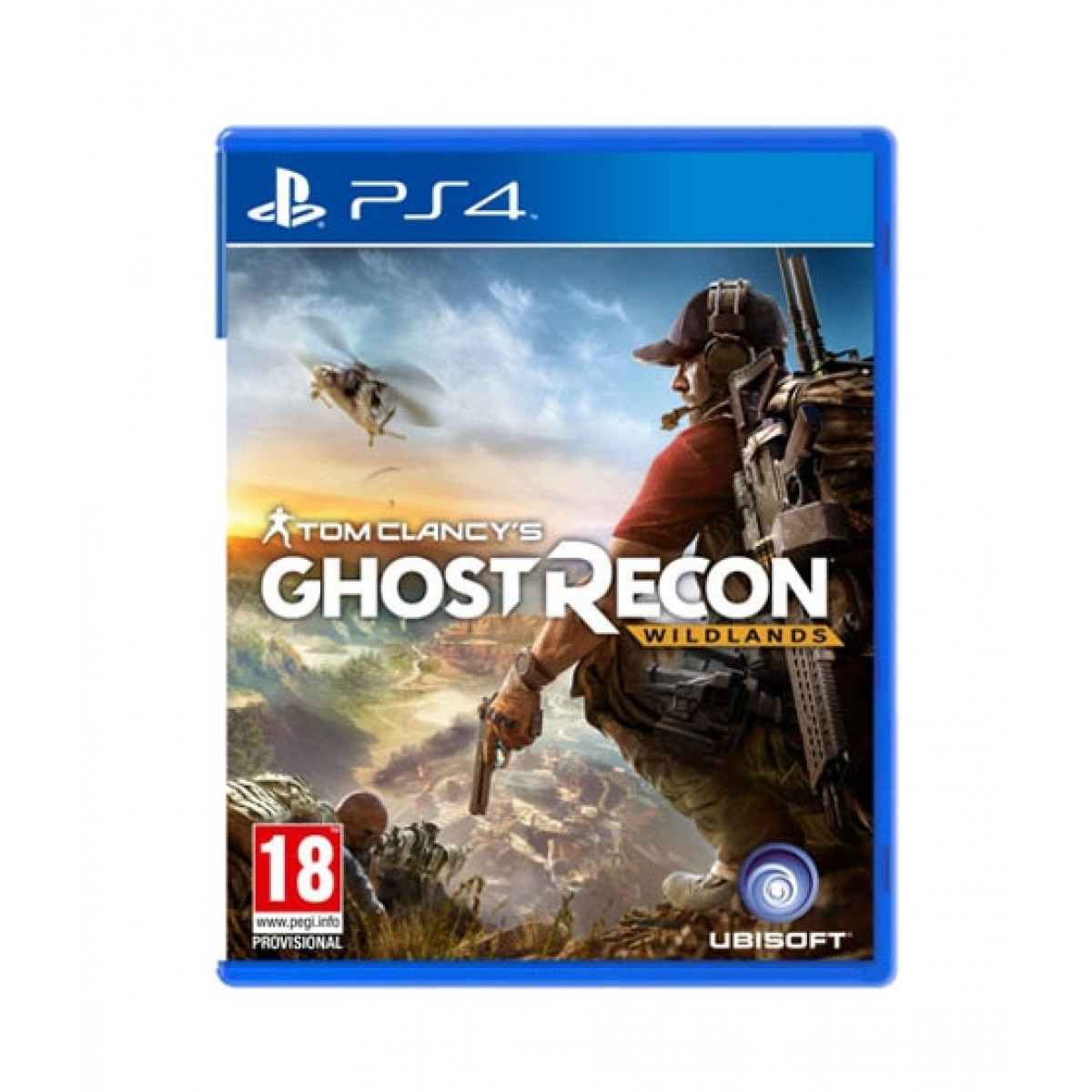 Tom Clancy's Ghost Recon Wildlands Game For PS4
