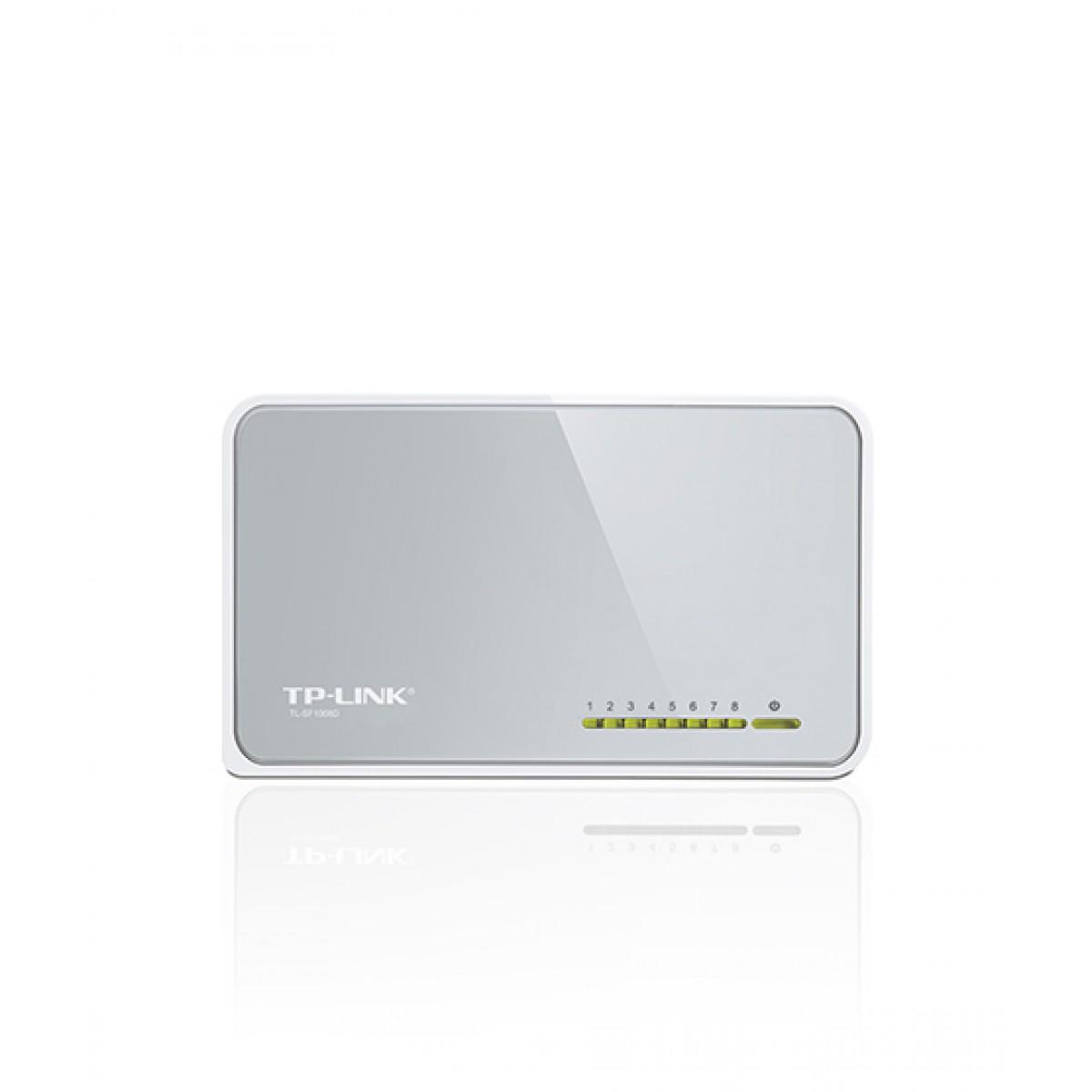 TP-Link 8-Port 10/100Mbps Desktop Switch (TL-SF1008D)