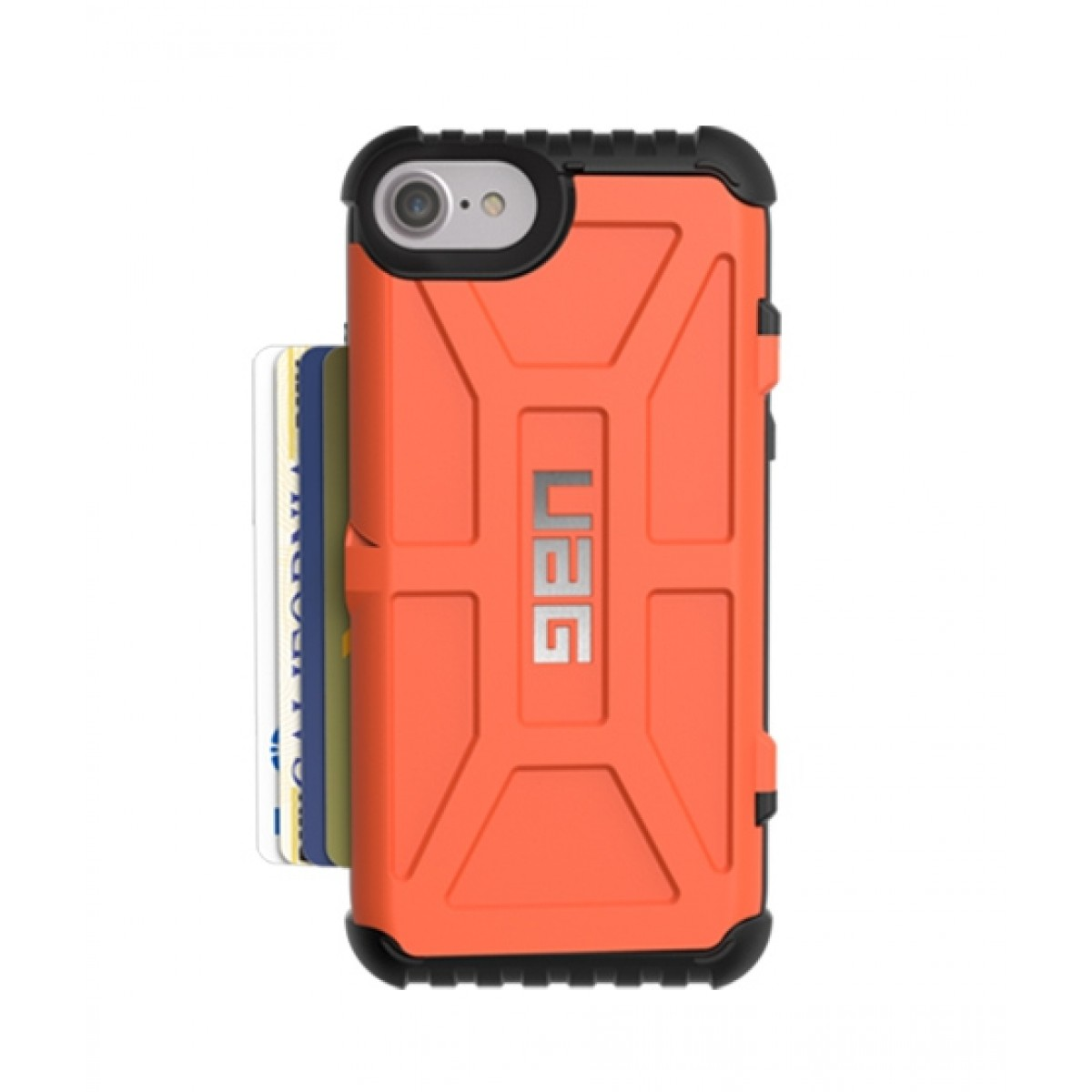 quality design fe6f3 2f3c7 UAG Trooper Series Rust Case For iPhone 8