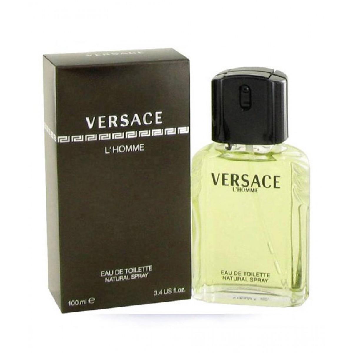 Versace Lhomme Edt Perfume For Men 100ml