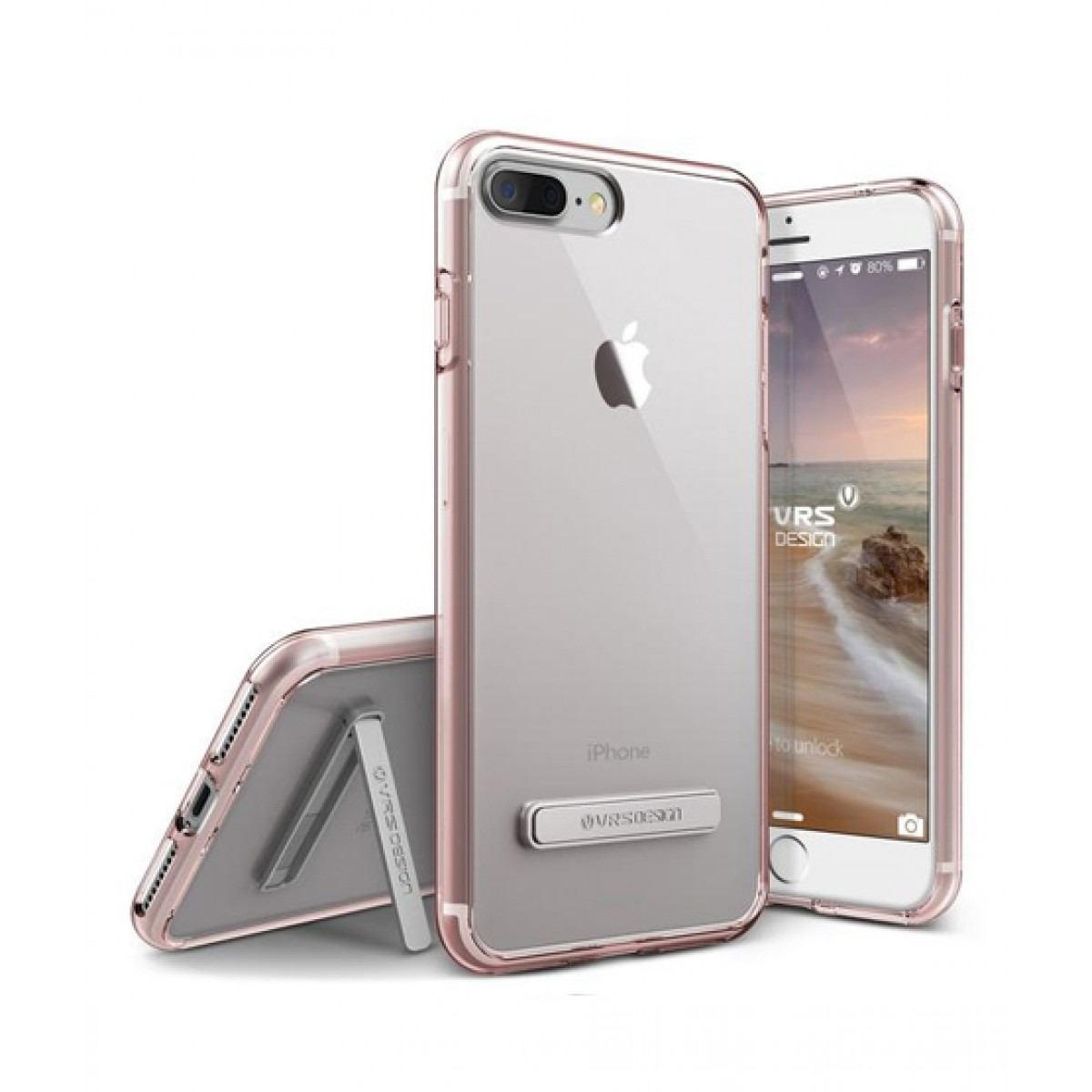 VRS Design Crystal Mixx Rose Gold Case For iPhone 8 Plus