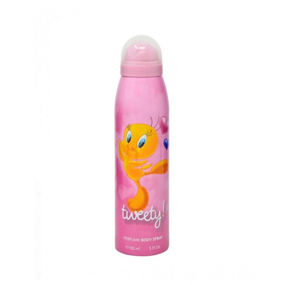 Warner Bros Tweety Body Spray For Girl 150ml