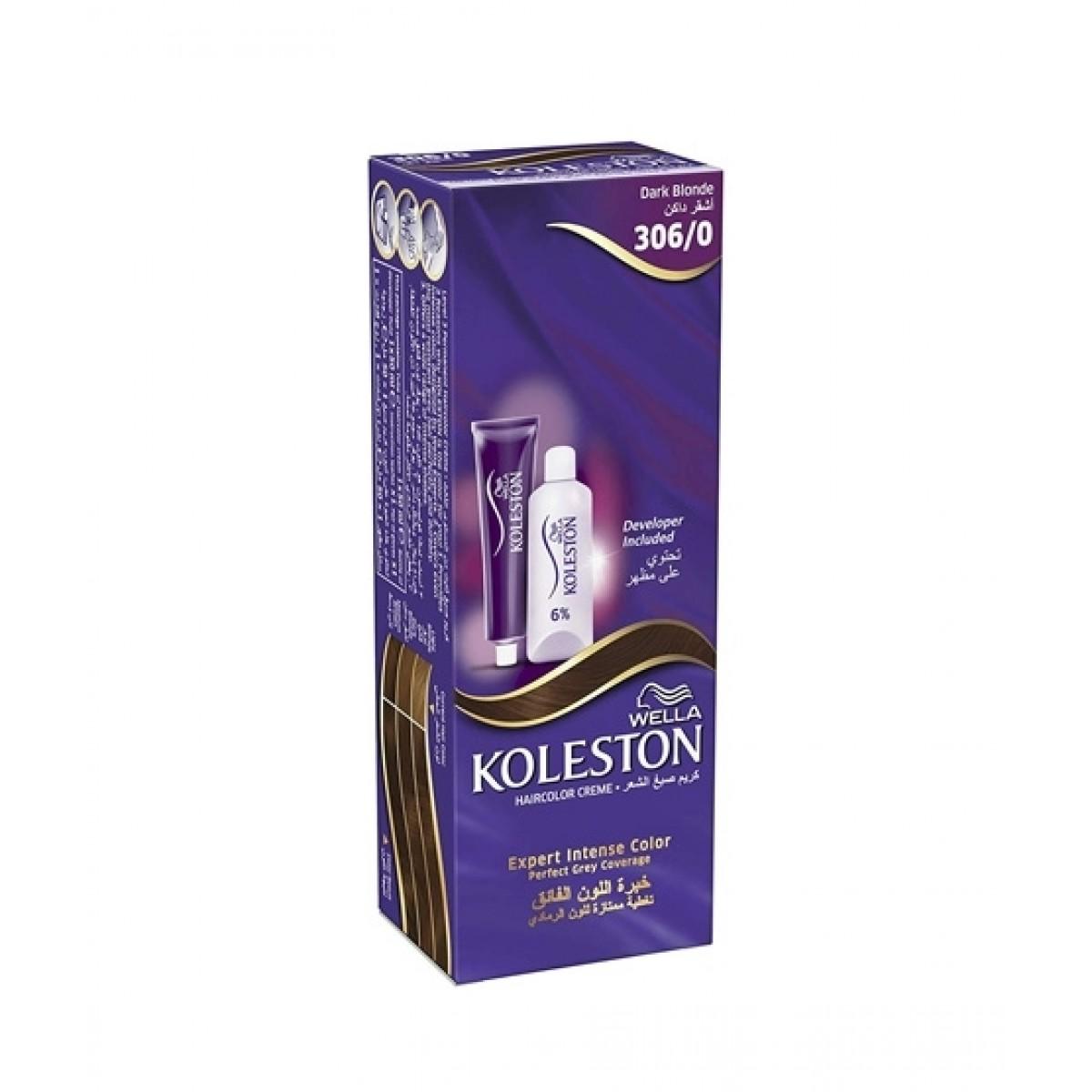 Wella Koleston Hair Color 306/0 Dark Blonde 100ml