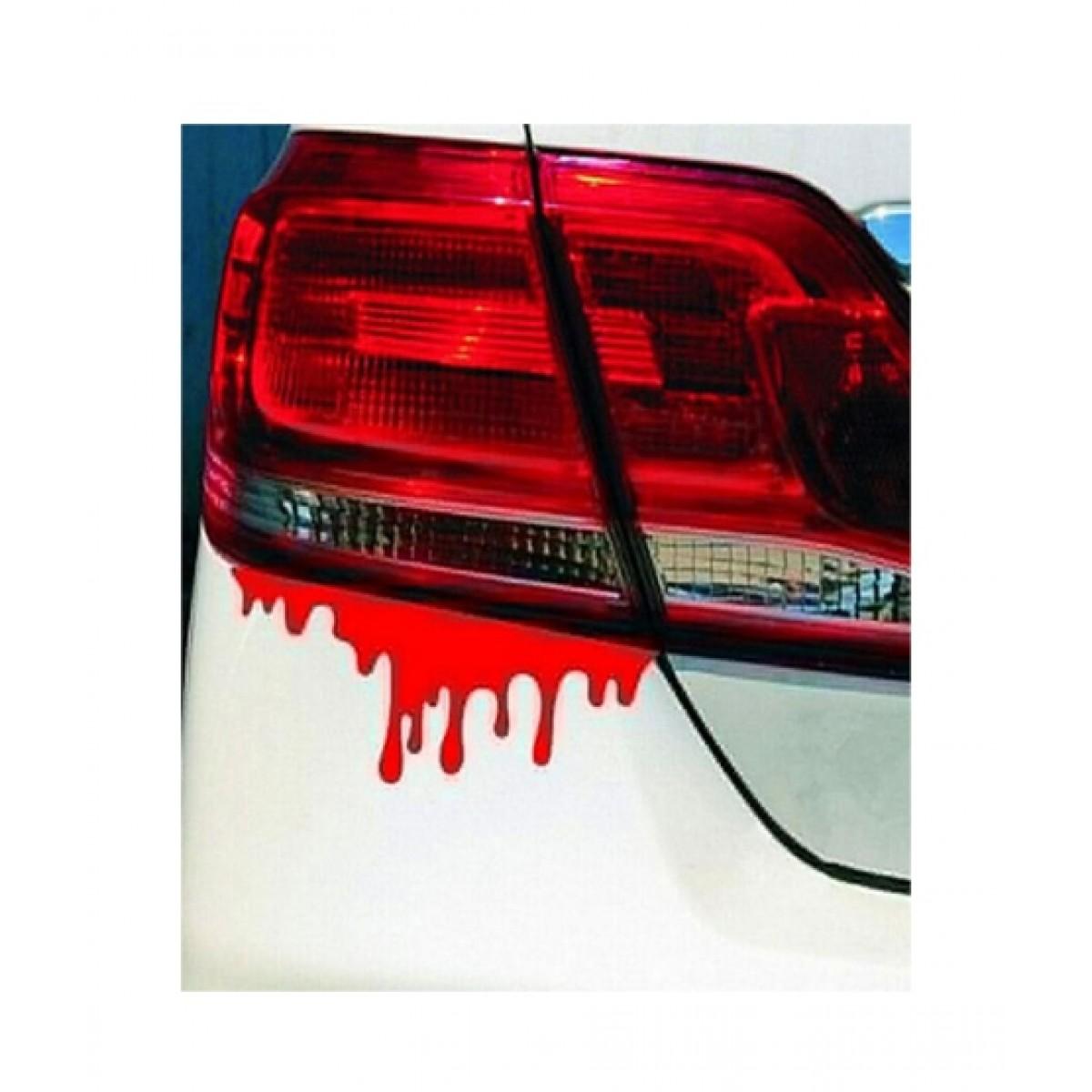 Wish hub blood car light bumper sticker price in pakistan buy wish hub red blood car bumper sticker ishopping pk