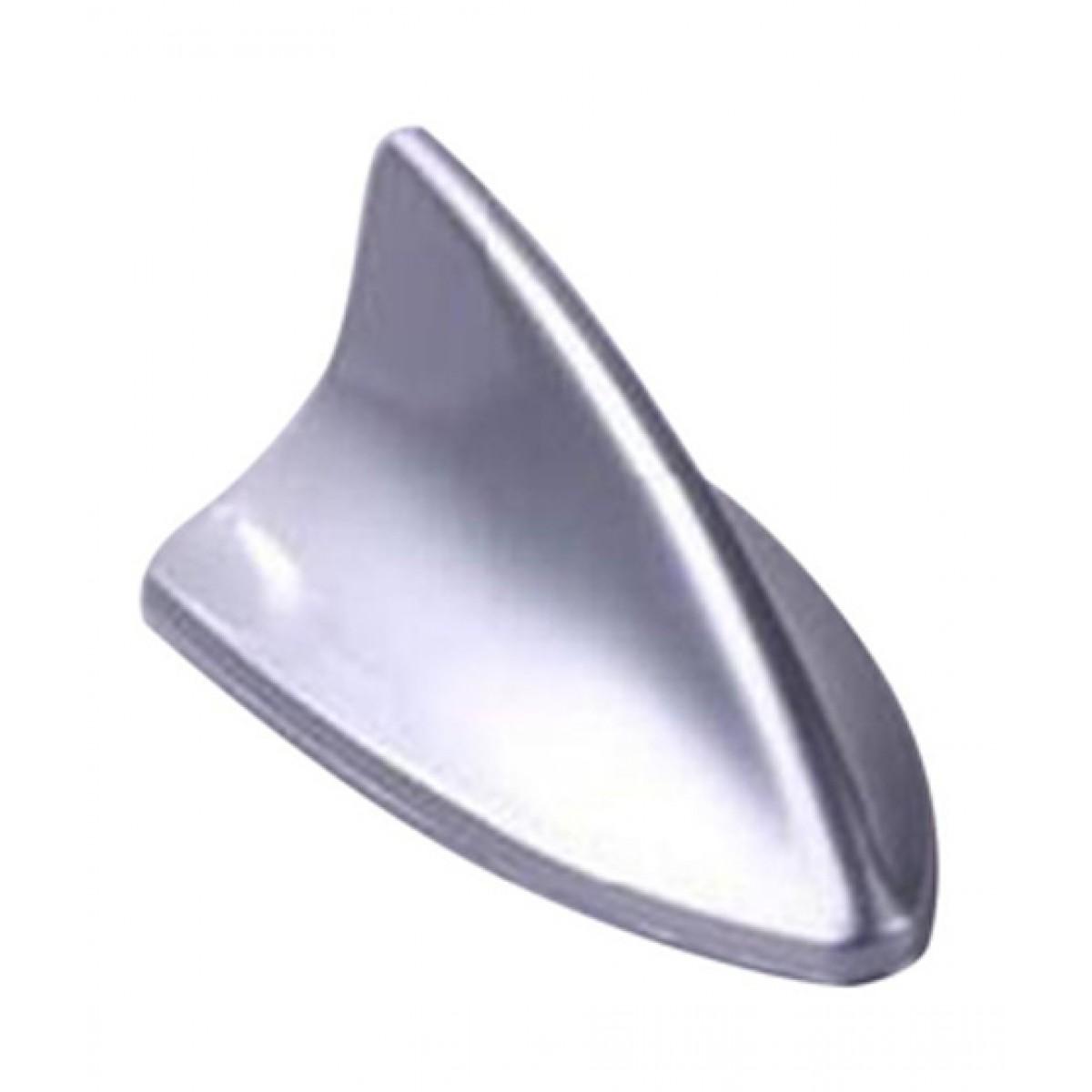 Wish Hub Universal Shark Fin Car Antenna Silver
