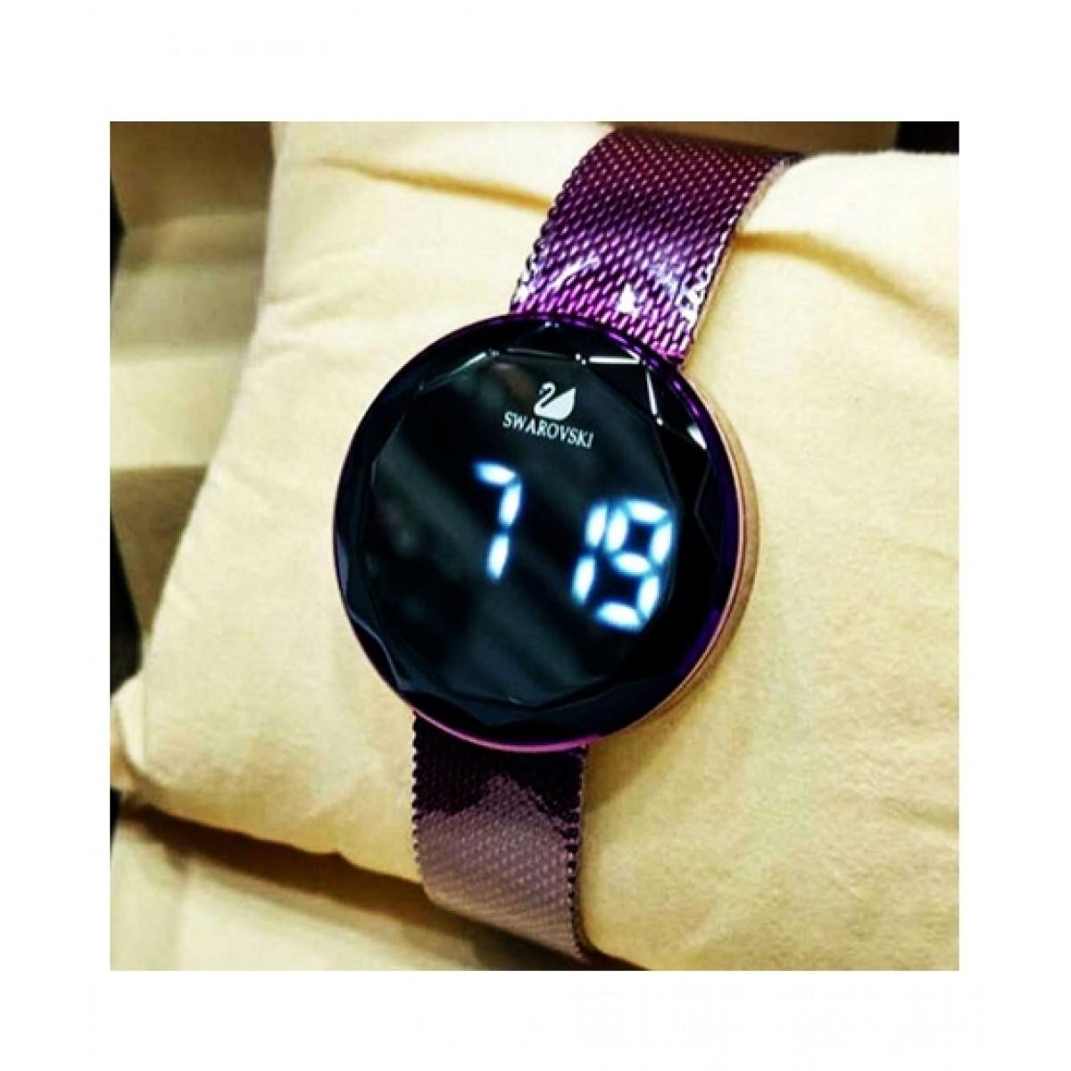 Worbax Inc Digital Chain Watch For Men (0010)