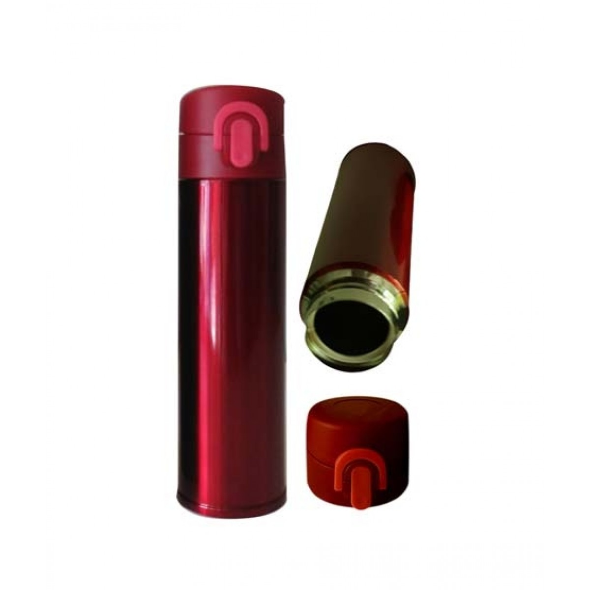 World of Promotion Stainless Steel Vacum Water Bottle Red (500ML)