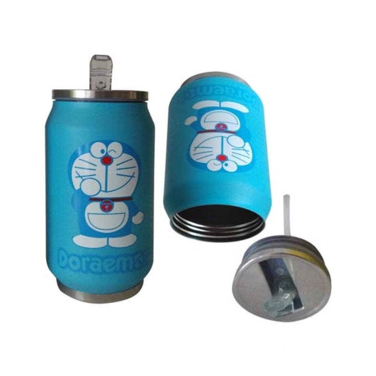 World of Promotion Stainless Steel Vacuum Water Bottle Doraemon (300ML)