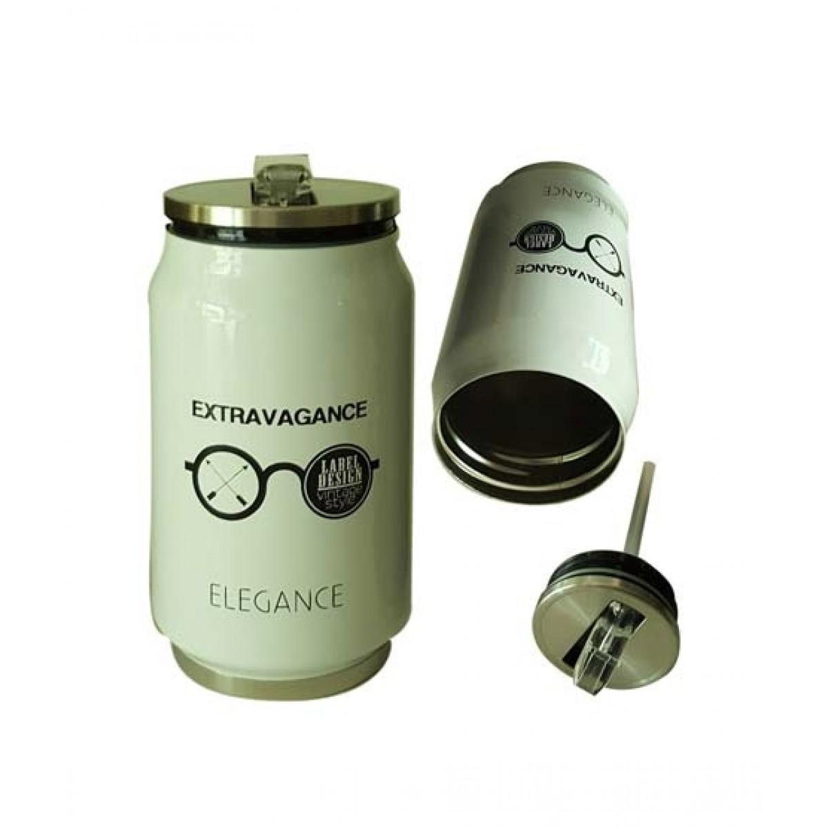 World of Promotion Vacum Water Bottle Extravagance White (300ML)