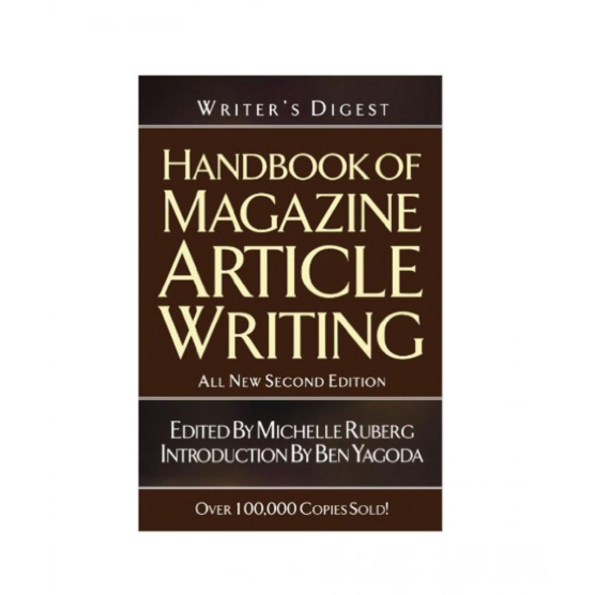 Writer's Digest Handbook of Magazine Article Writing Book 2nd Edition