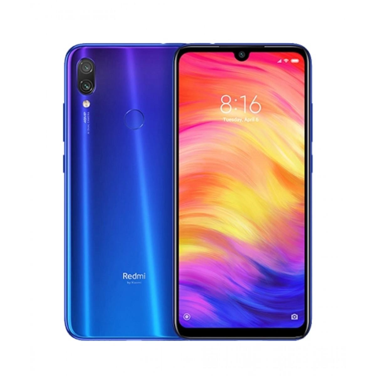 Xiaomi Redmi Note 7 64GB Dual Sim Neptune Blue - Non PTA Compliant