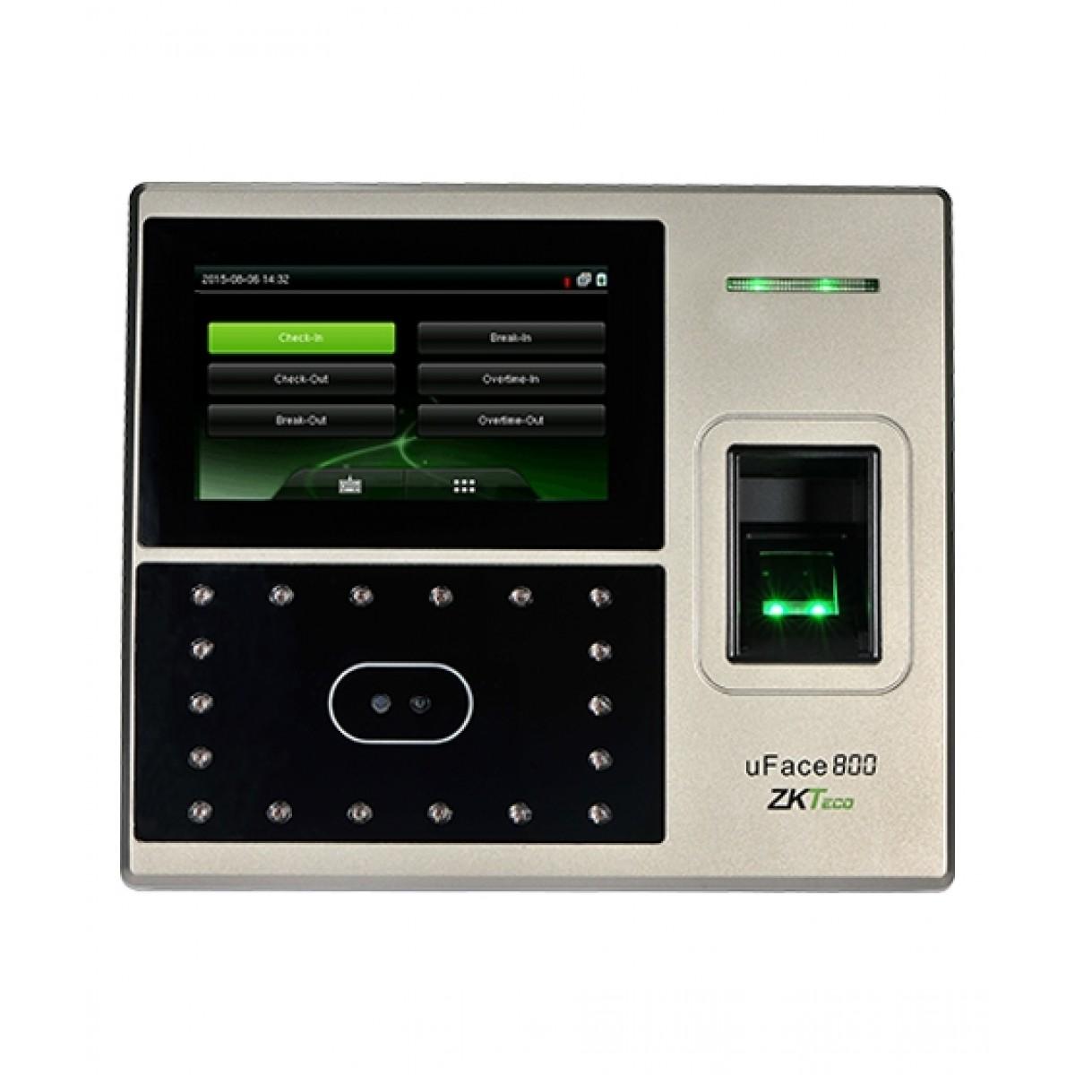 ZKTeco uFace800 Face & Fingerprint Time Attendance Machine