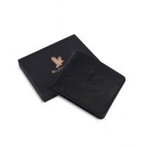 Blackbird Leathers Handmade Bifold Leather Wallet For Men Black
