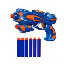 Planet X Frost Nova Soft Bullet Dart Shooting Nerf Gun - Manual Reload (PX-10686)