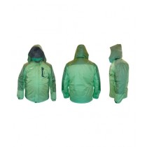 World of Promotions Waterproof Polyester Jacket Green