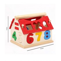 Planet X Number House Wooden Play Set (PX-10708)
