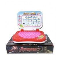 Planet X Marvel Avengers Mini Educational Laptop For Toddlers (PX-10734)