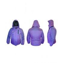 World of Promotions Waterproof Polyester Jacket Purple