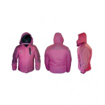 World of Promotions Waterproof Polyester Jacket Pink