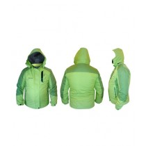World of Promotions Waterproof Polyester Jacket Light Green