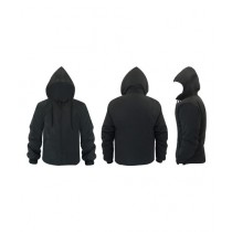 World of Promotions Waterproof Polyester Jacket Black