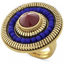 Vince Camuto Gold-Tone Circle Ring