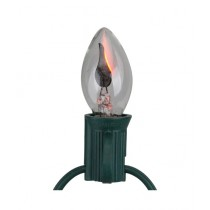 Rubian Store Flicker Flame Electric Candle Lamp Bulb