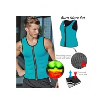 Shop Zone Hot Shapers Slimming Zipper Shirt for Men