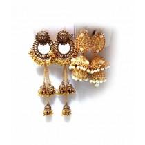 Bushrah Collection Earring Pack of 2
