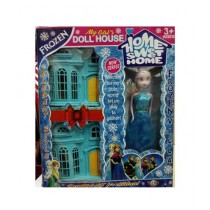 M Toys Frozen Doll House With Doll for Girls