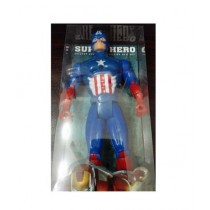 M Toys Simple Captain America Figure for Kids