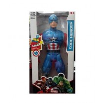 M Toys Battery Operated Captain America Figure Toy
