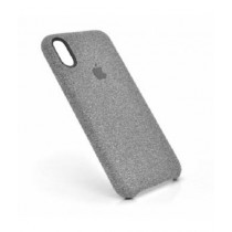 JustNet Canvas Pattem Back Cover For iPhone X/XS - Grey