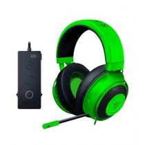 Razer Kraken Tournament Edition Wired Gaming Headset with USB Audio Controller - Green