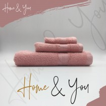Home N You Fade Resistant Bath Towel Pink Pack Of 3
