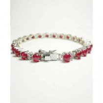 Artistic Jewels Bracelet For Women Red/White (BR-52)